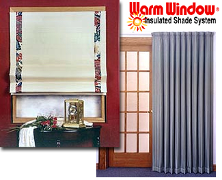 Insulated Shade Systems Insulated Window Shades